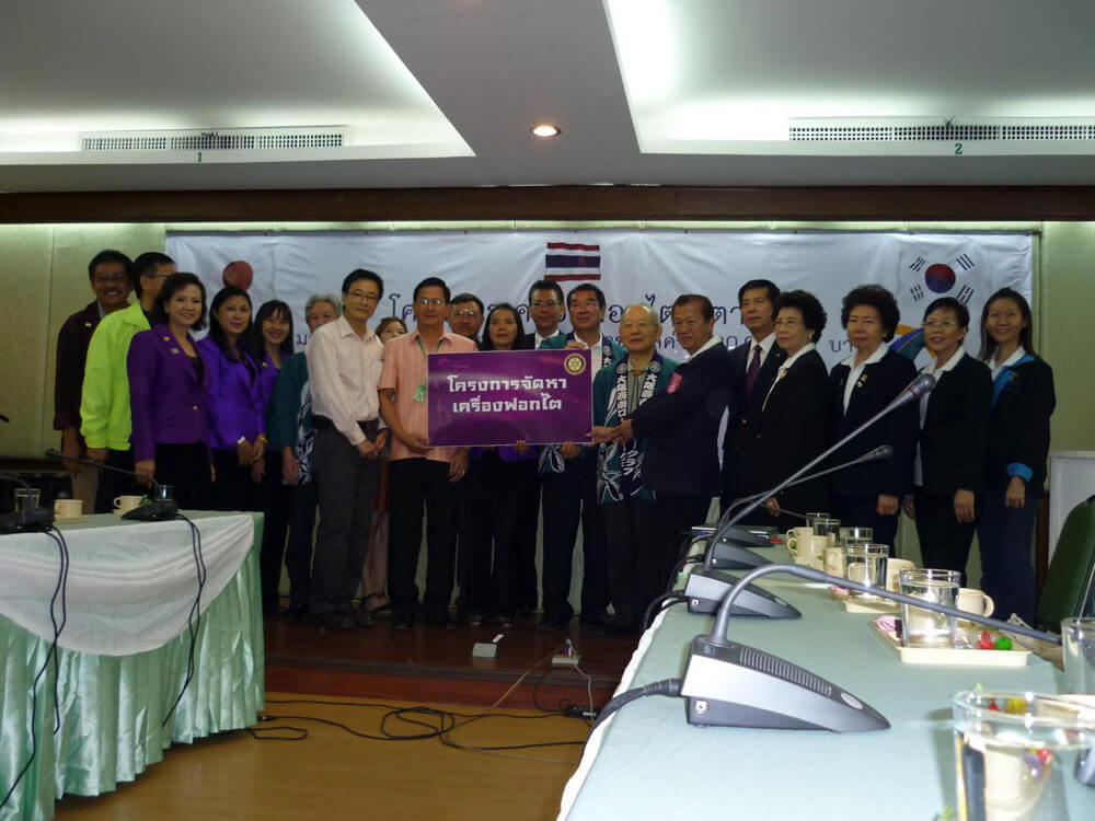 WCS事業タイ国訪問