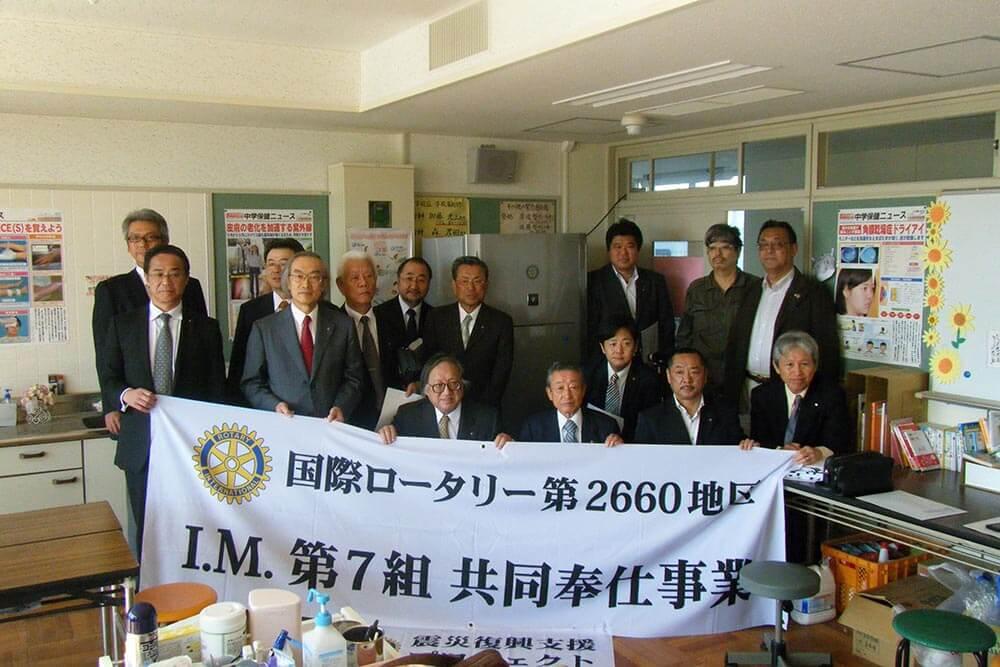 宮城県東松島市地域復興支援