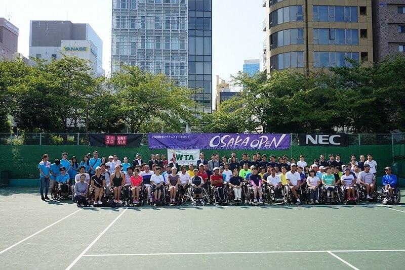 大阪国際車いすテニストーナメント