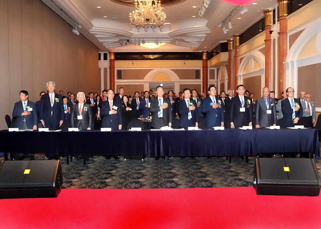 北釜山RC50周年式典・北釜山RC公式訪問